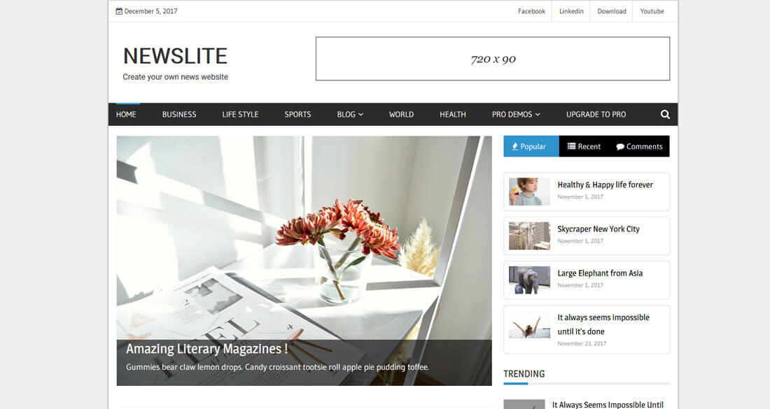 20 Free News Website Templates To Share News As They Happen - how to create a website template