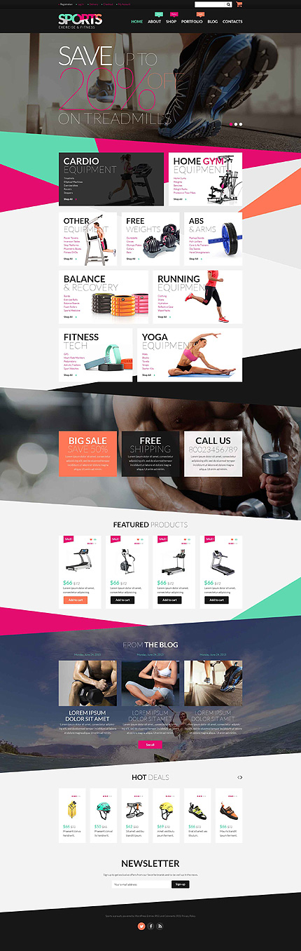 Your Webstore meets Parallax 30 Great WooCommerce Themes with