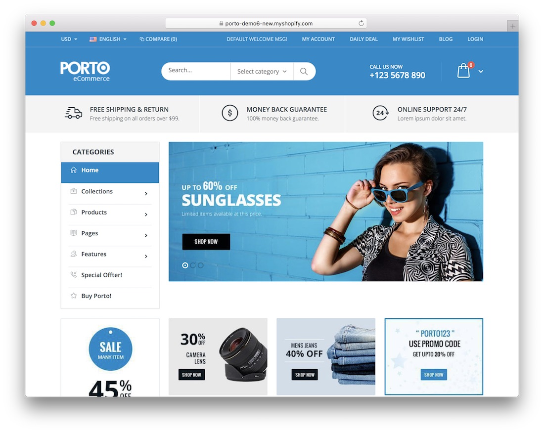 Bad 24 Online Shop 38 Free Best Shopify Themes For Your Online Store 2019 Colorlib