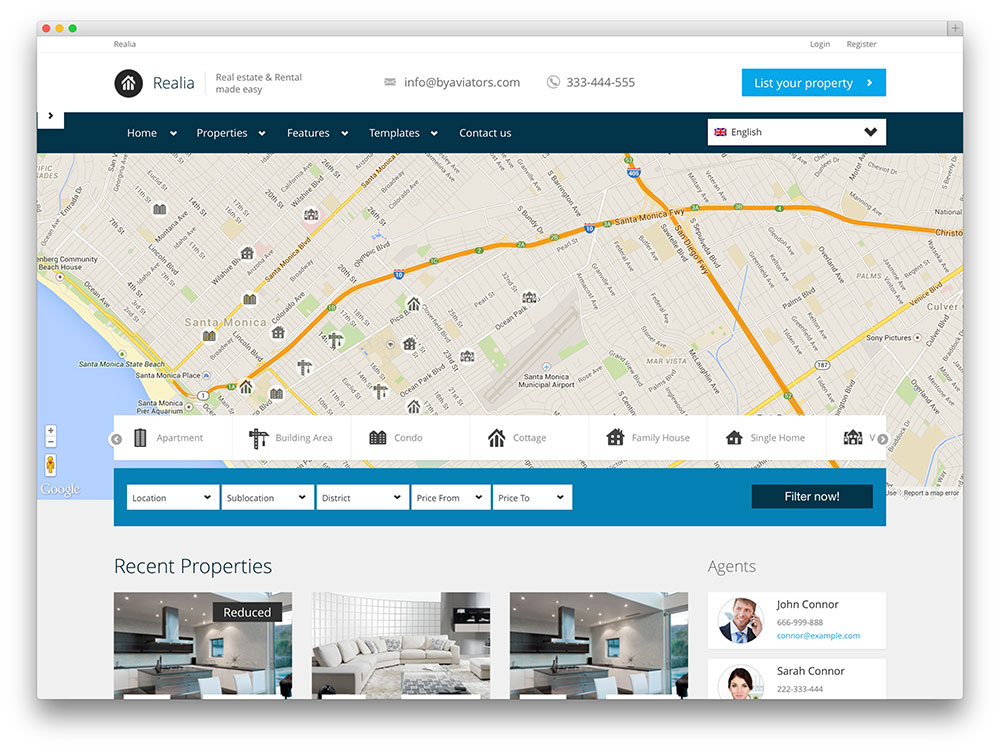 34 Best Real Estate WordPress Themes For Agencies, Realtors and
