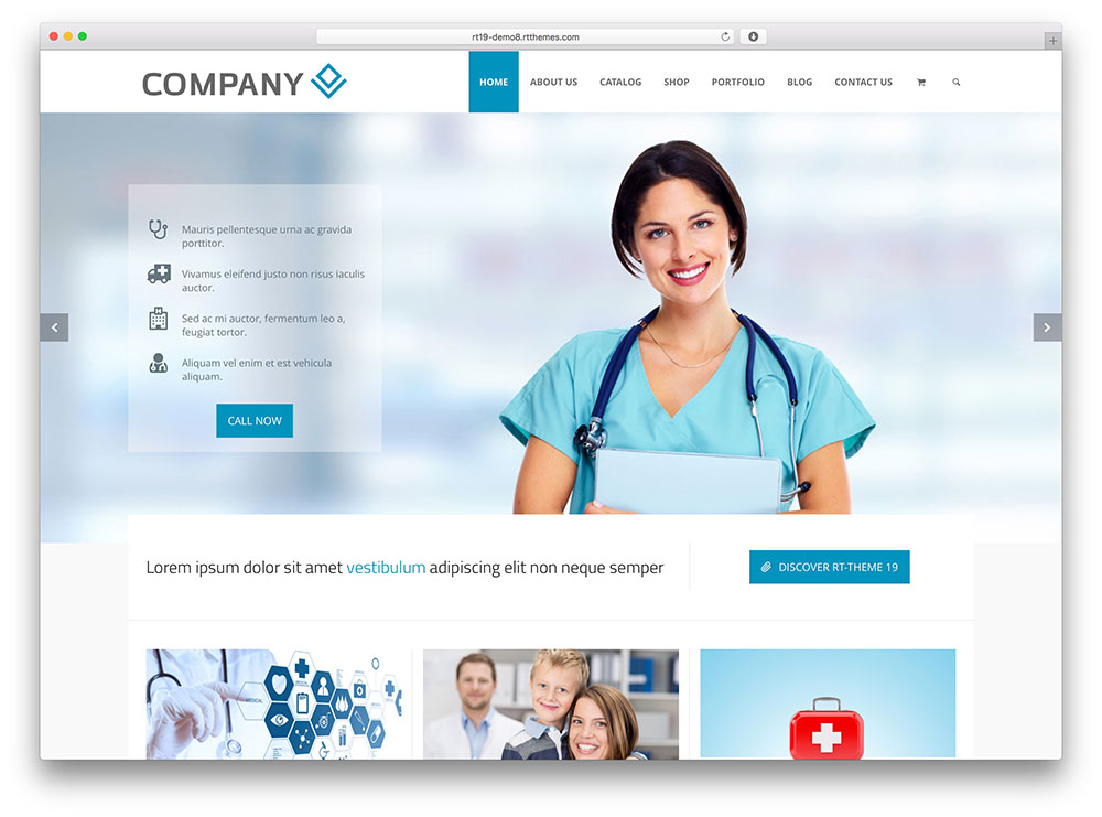 30+ Best Health and Medical WordPress Themes 2019 - colorlib