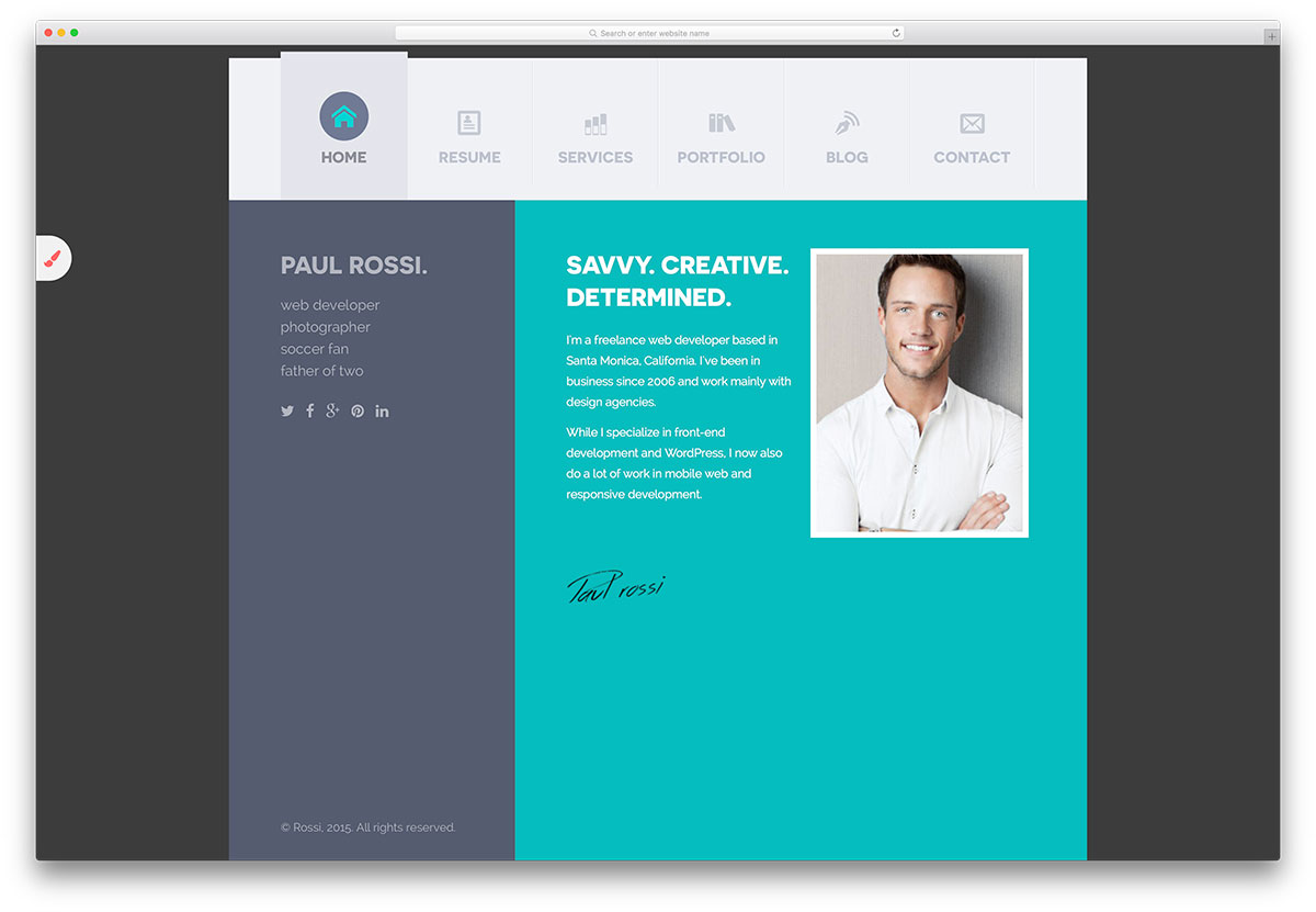 best resume website template best resume website - Resume Web Template
