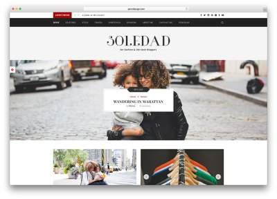 43 Best Fashion Blog & Magazine WordPress Themes 2018 ...