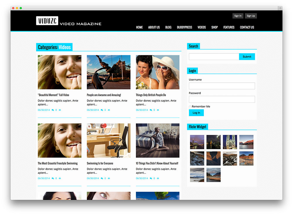 Best WordPress Video Themes For Embedded and Self Hosted Videos 2018