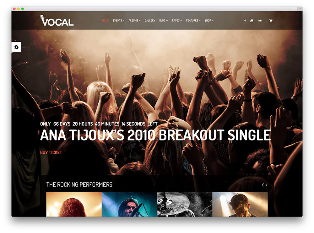 15 Awesome WordPress Themes For Nightclubs 2017 - colorlib - sample holdem odds chart template
