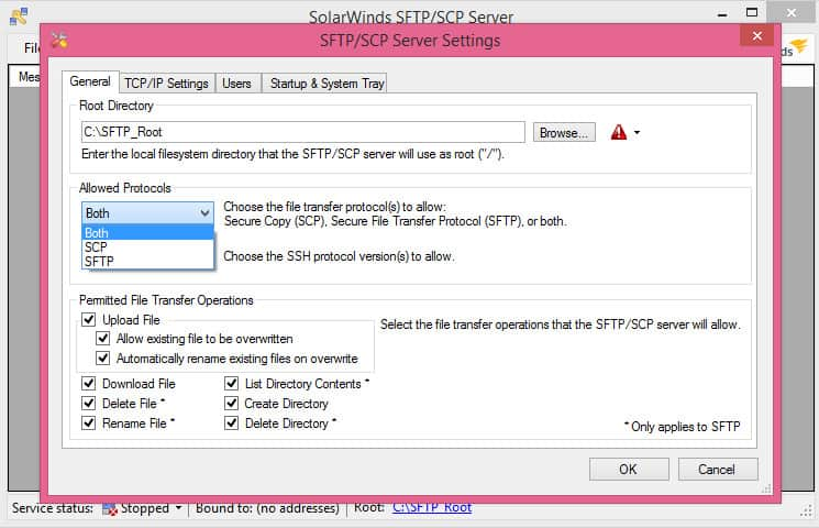 Server Sftp 18 Best Free Sftp And Ftps Servers For Windows And Linux