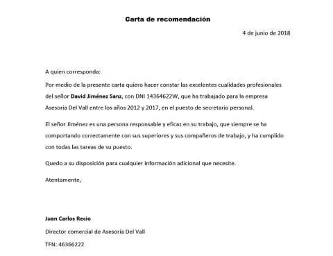 formato carta laboral en word - Roho4senses