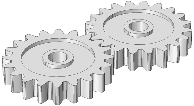 Simple Car Wallpapers An Introduction To Gear Modeling In Comsol Multiphysics