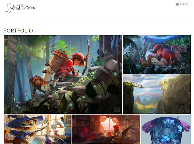 Tips For A Kickass Concept Art Portfolio Website
