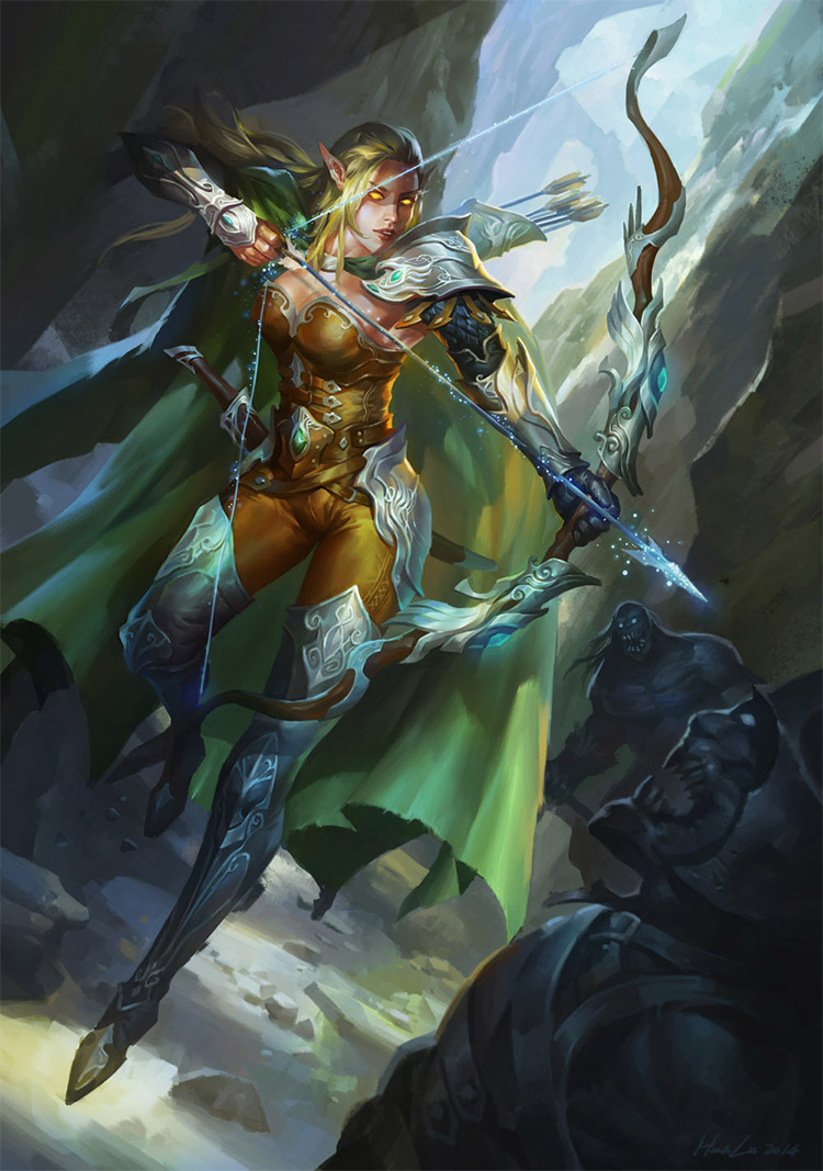 Mythical Creatures In The Fall Wallpaper Elf Amp Elven Character Art Design Gallery
