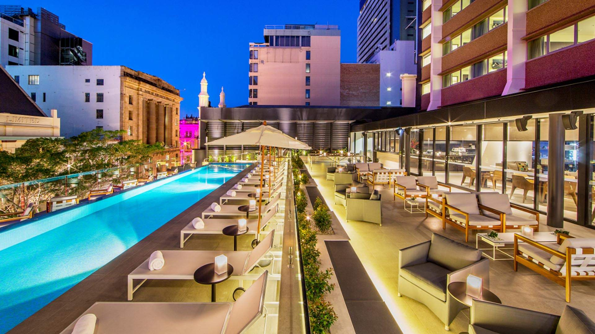 Sun Lounges Brisbane Rooftop Hotels In New Orleans Downtown New Orleans Hotel