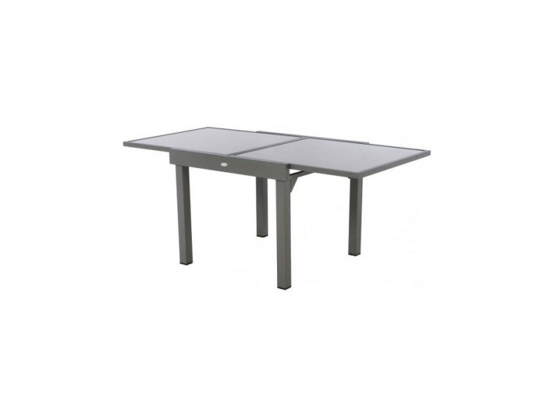 Table De Jardin Piazza Table Piazza Extensible 8 Personnes Taupe/mastic - Vente