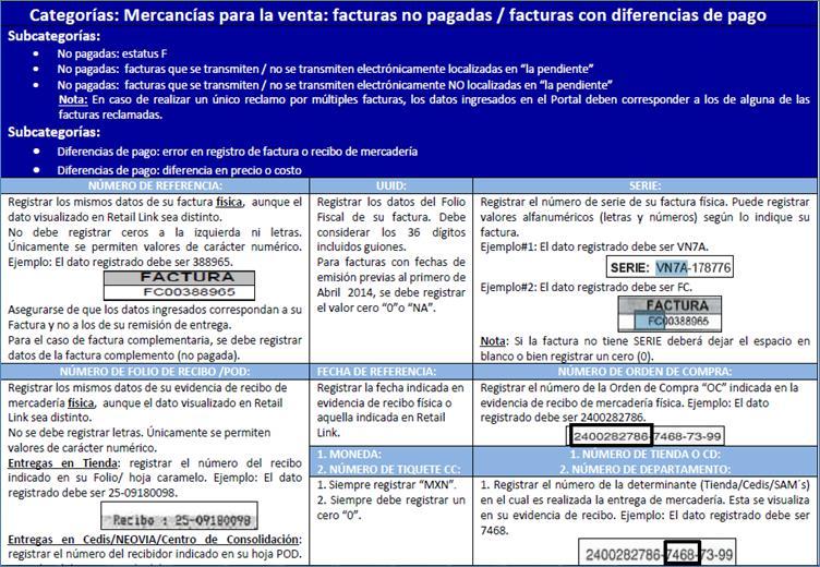 Pagos y Facturación - Walmart México