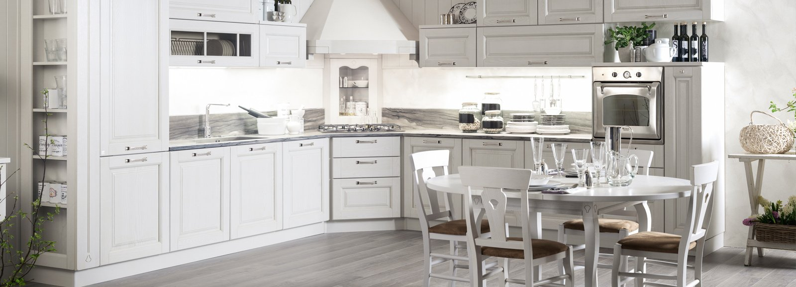 Cucina Classica Shabby Cucine Shabby Bianche Excellent Categorie Del Negozio With Cucine