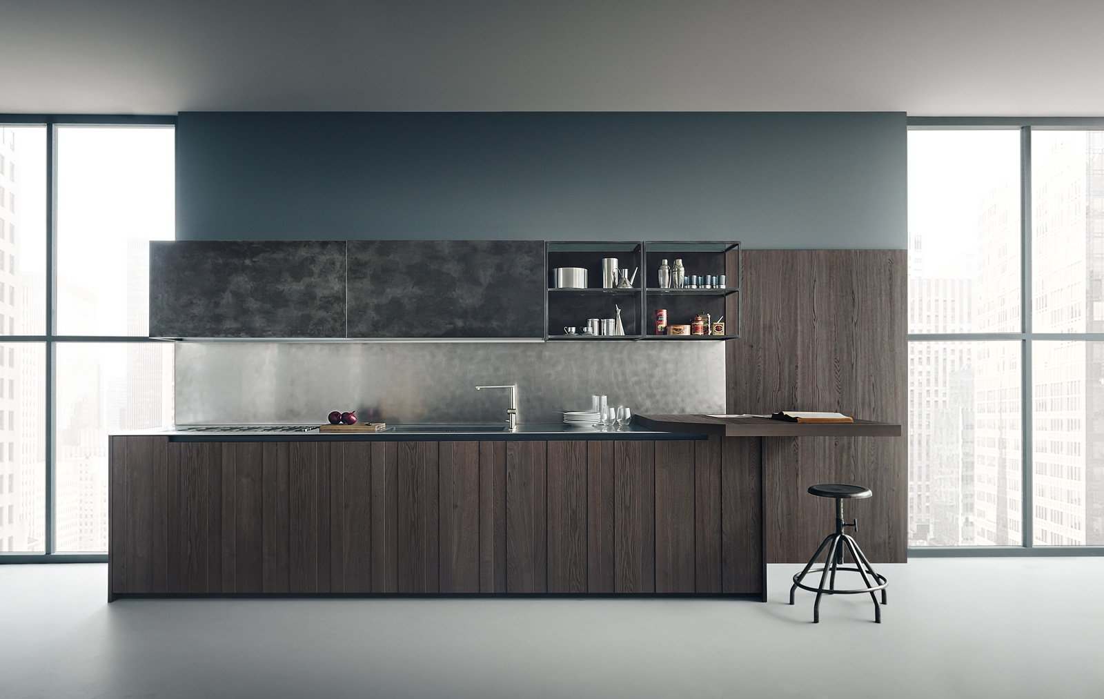 Cucina Ferro Di Cavallo   Design Lovers Corner Kitchen 5 Inspiring ...