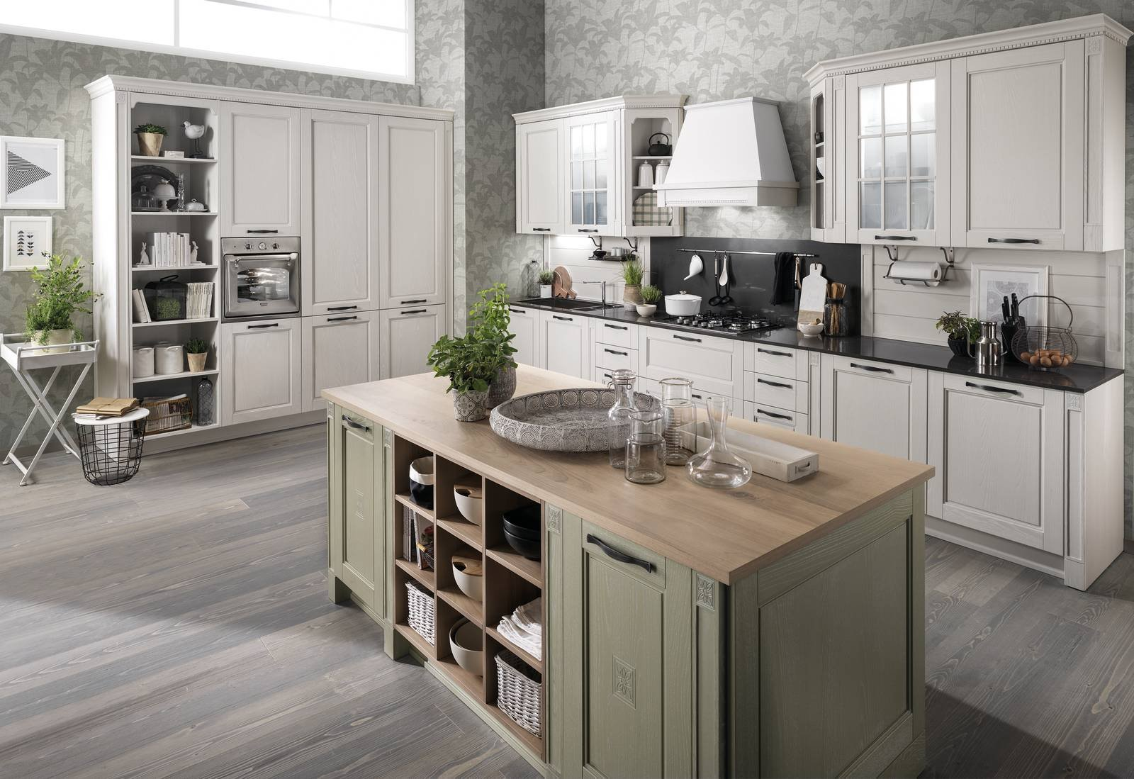 Cucina Country Chic Verde Cucina In Stile Country Anche In Versione Attuale Cose