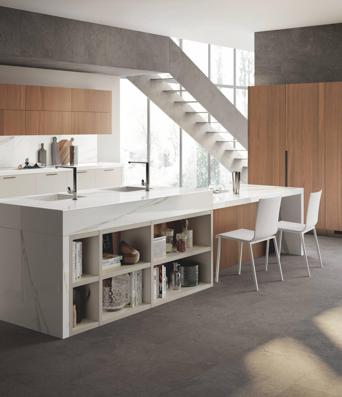 Cucina Scavolini Gres | Delightful Stylish Modern Kitchen Idea ...