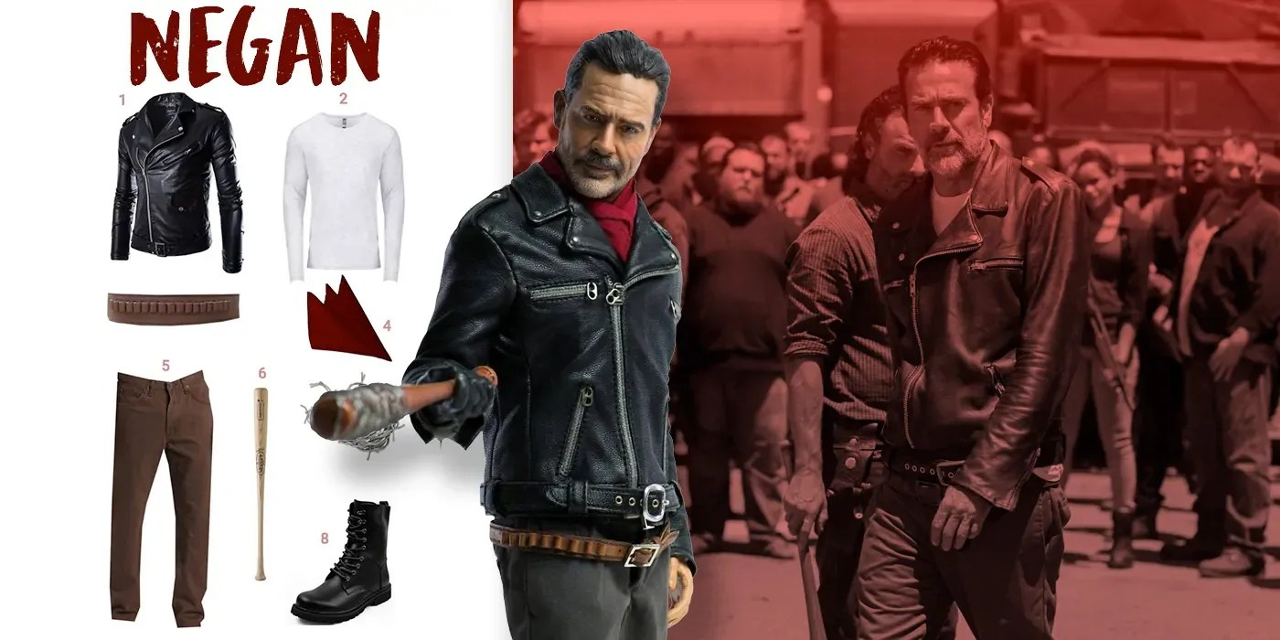 Dress Like Negan Costume Halloween And Cosplay Guides