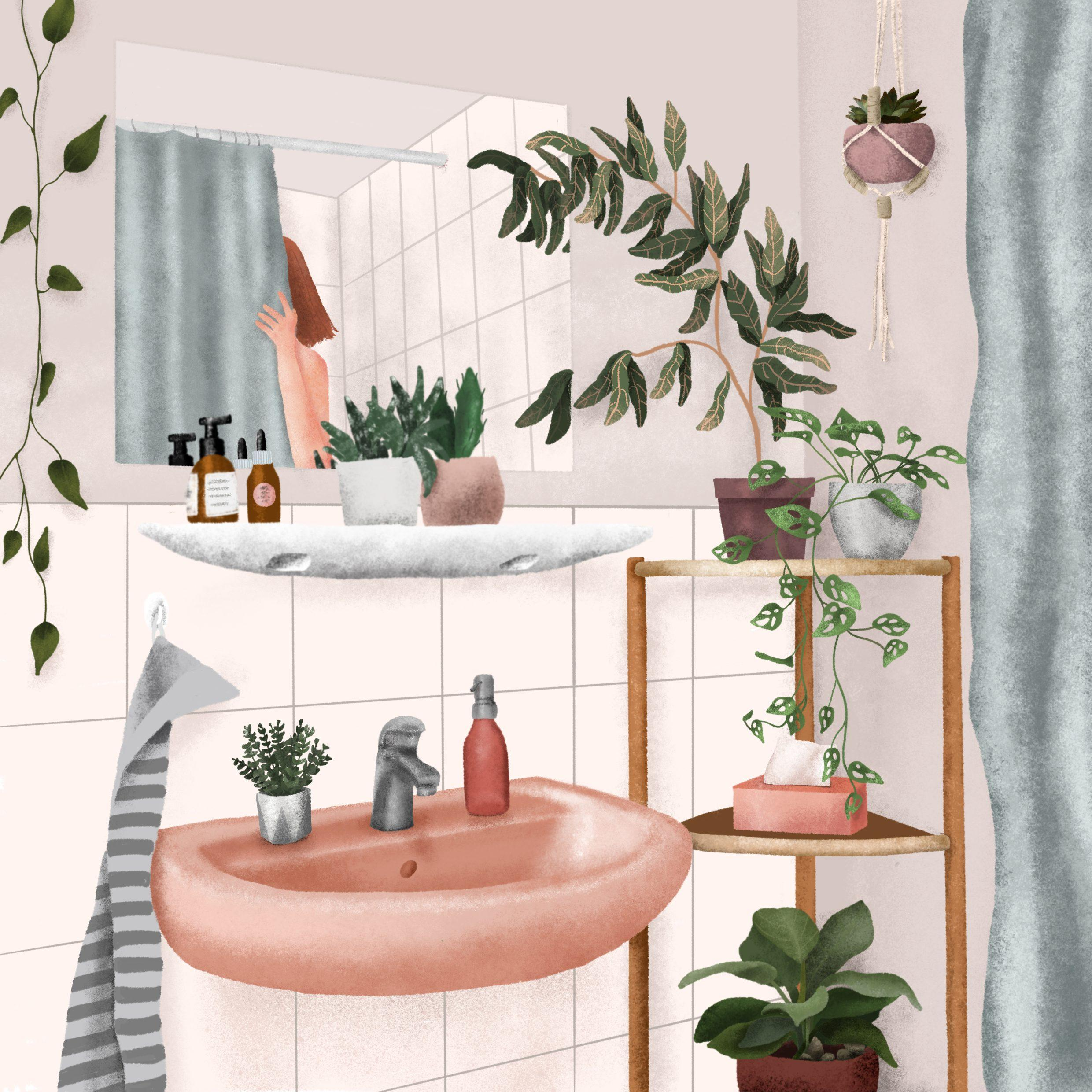 Bad Deko Beautyday Badezimmer Deko Bathroom Bad Illus