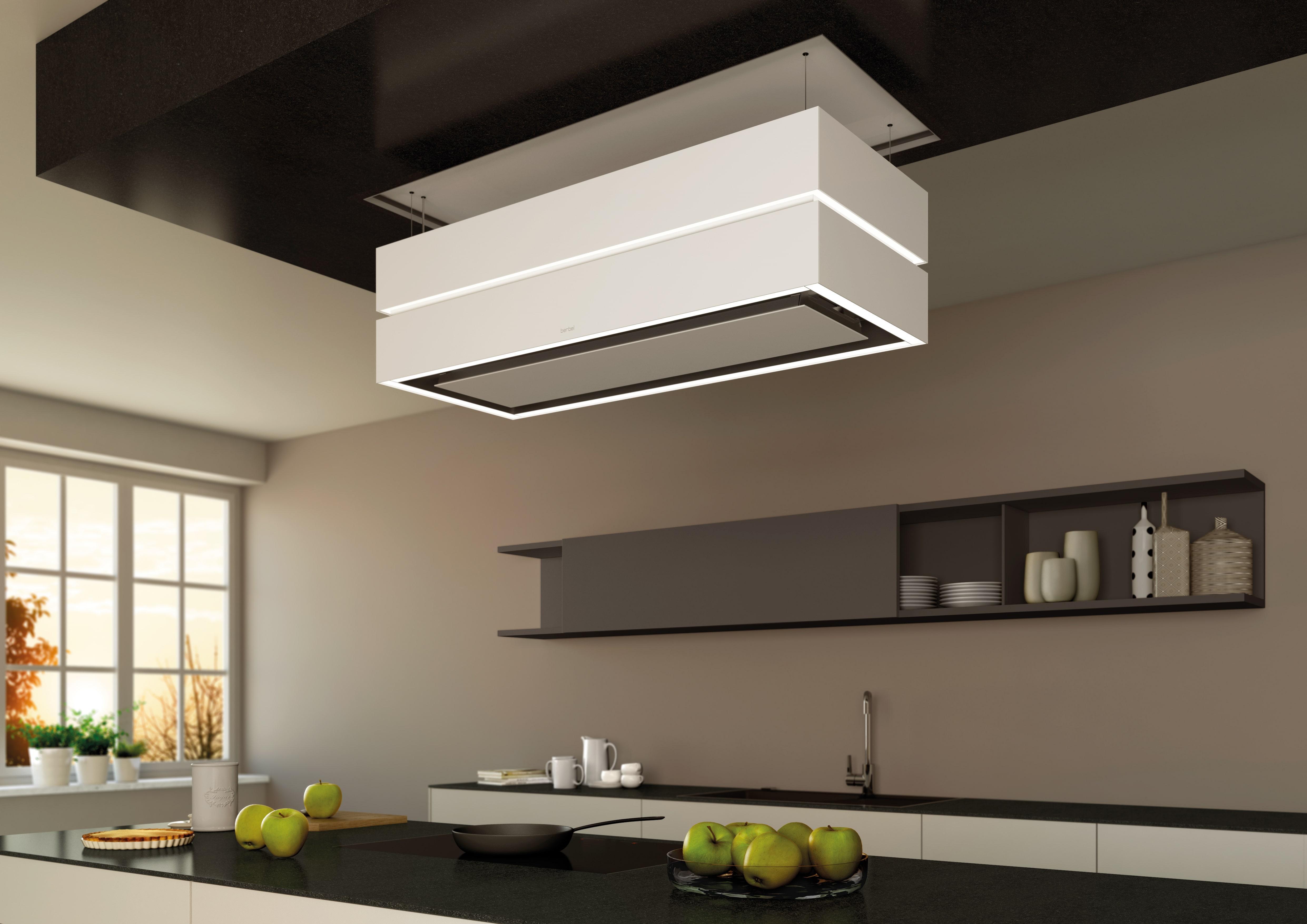 Küche ohne dunstabzugshaube wesco unterputz wandhaube deckel