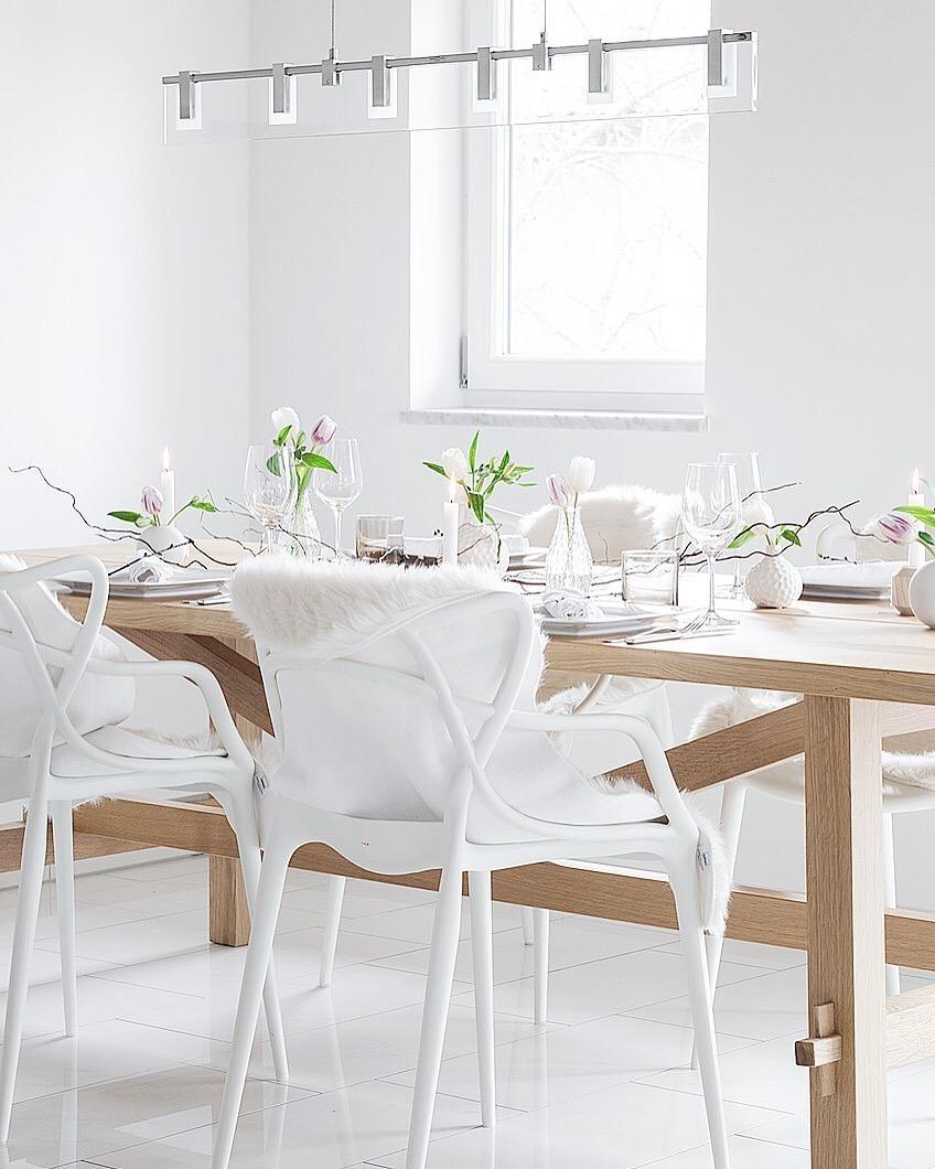 deko ideen ostern tisch deko ideen teller. Black Bedroom Furniture Sets. Home Design Ideas