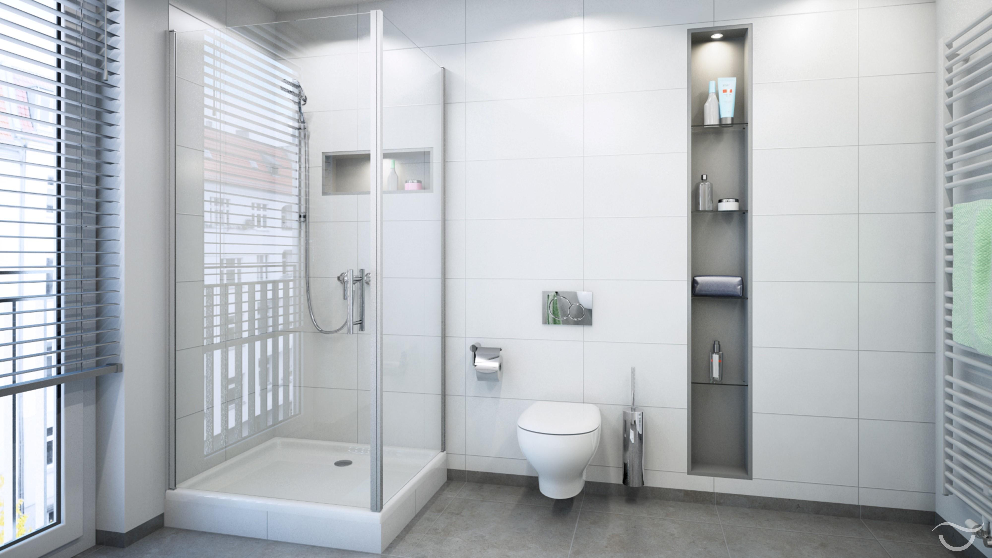Badezimmer Dusche | Badezimmer Putztrick Bad Mühelos Sauber Machen ...