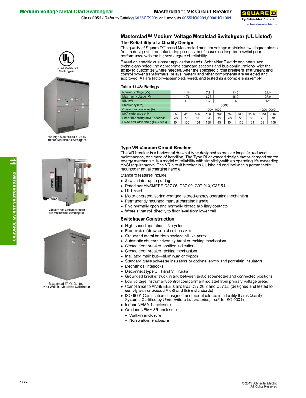 Schneider Electric Section 11