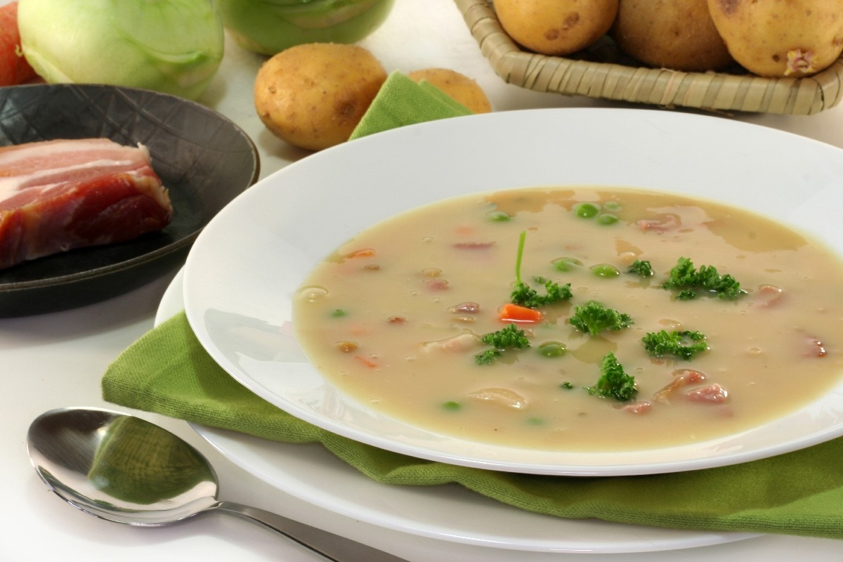 La Cocina De La Nana Granada Delicious Ham And Potato Soup Recipe Dishmaps