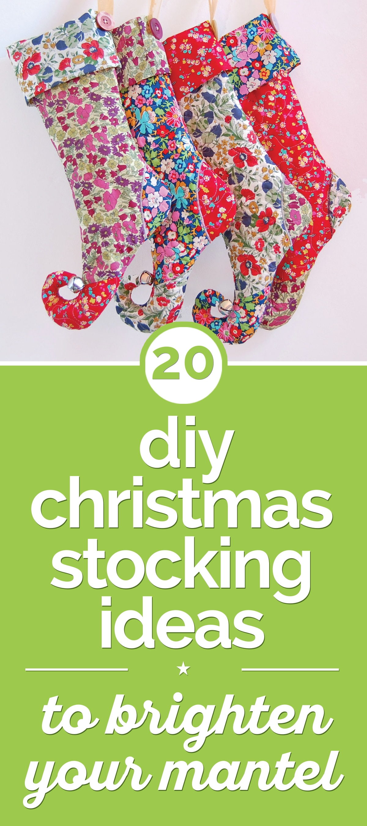 Diy Bank Holiday Offers 20 Easy Diy Christmas Stocking Ideas Thegoodstuff