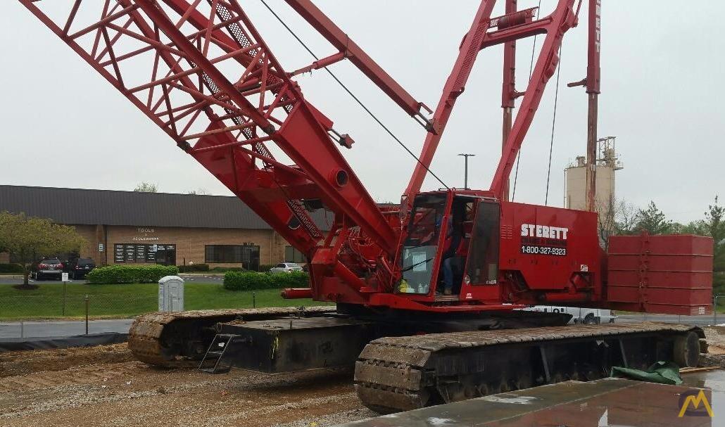 Manitowoc 2250 III 300-Ton Lattice Boom Crawler Crane For Sale
