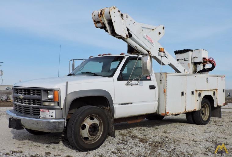 350 lb Dur-A-Lift DTA-35 Bucket Truck For Sale Boom Lifts