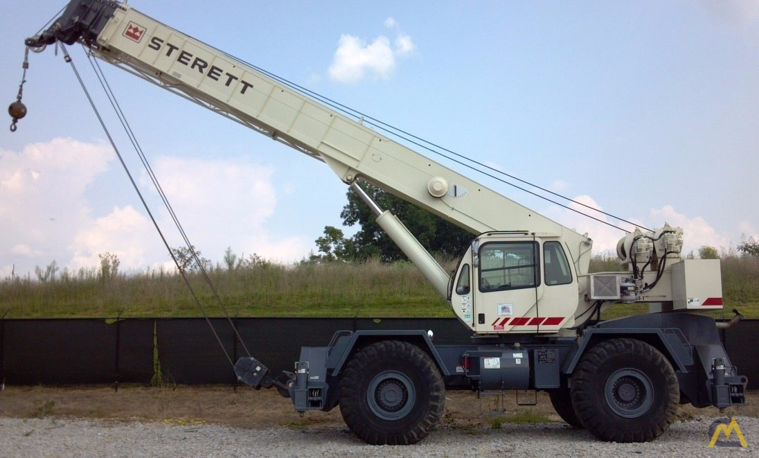 Terex RT-555-1 55-Ton Rough Terrain Crane For Sale or Rent