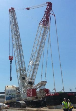 Terex-Demag CC2800-1 660-Ton Lattice Boom Crawler Crane For Sale or