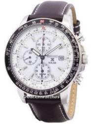 Seiko Men S Solar Chronograph Watch