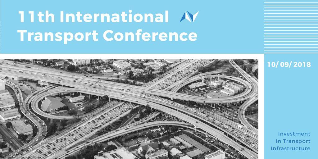 International transport conference announcement Blog image