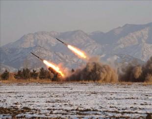 Corea del Norte lanza constantemente misiles a sus vecinos. Foto de archivo.