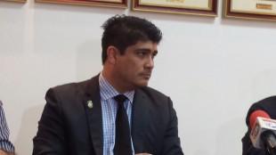 Carlos Alvarado, Ministro de Trabajo. CRH