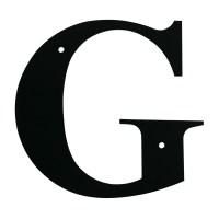 Village Wrought Iron: Letter G Medium