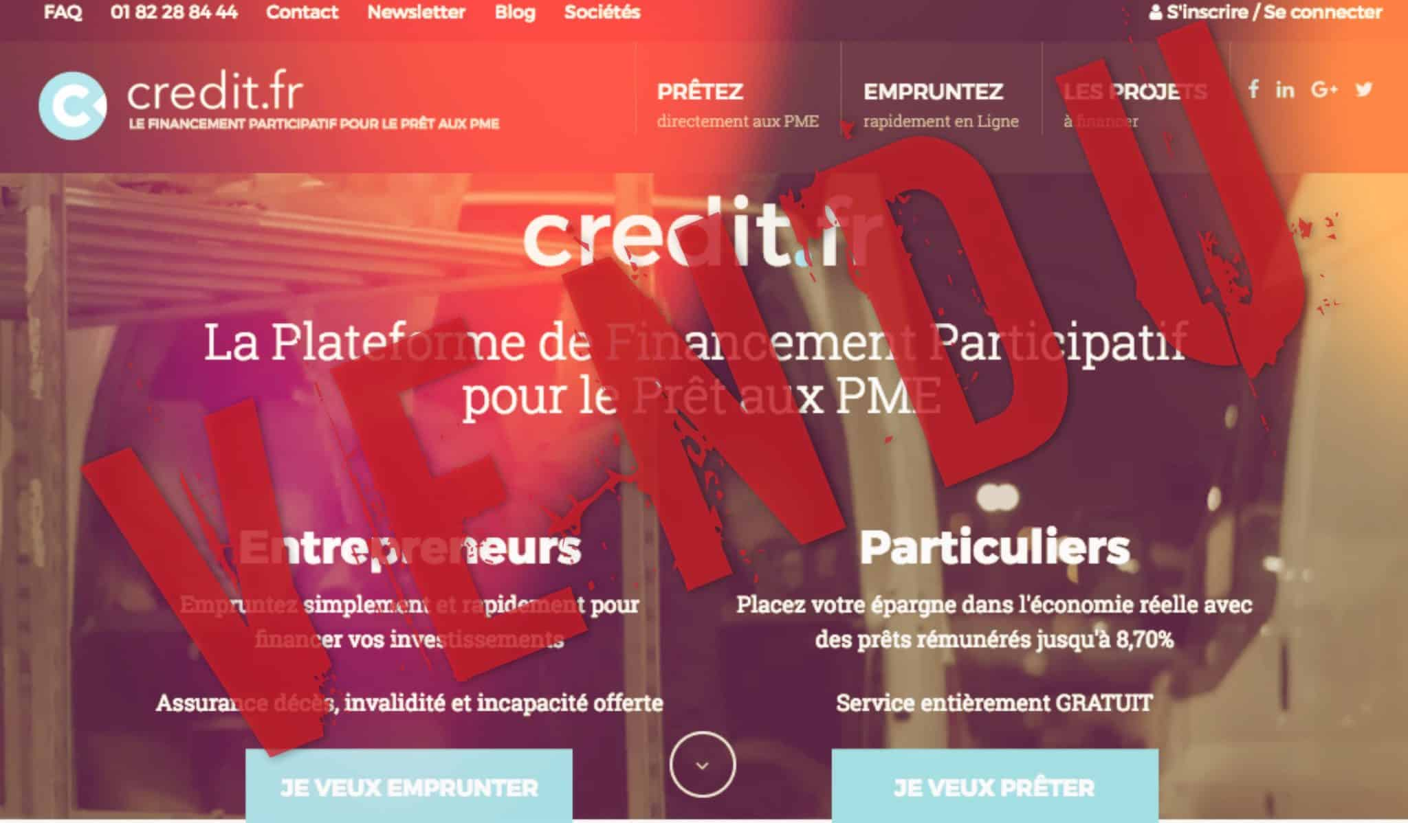 Crédit Pme Are French Fintechs Selling Out Credit Fr Acquired By Tikehau