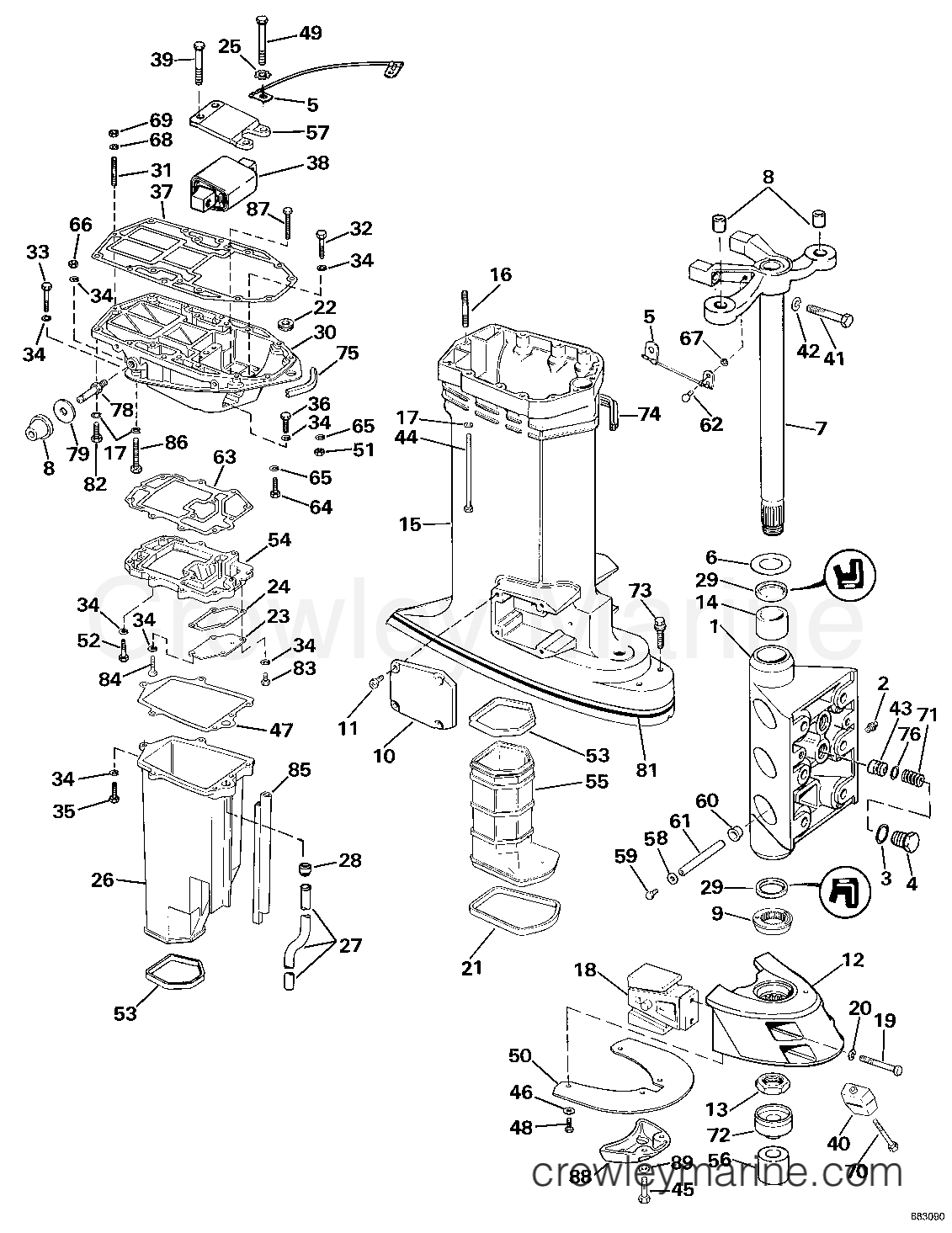 evinrude wiring diagram on 1987