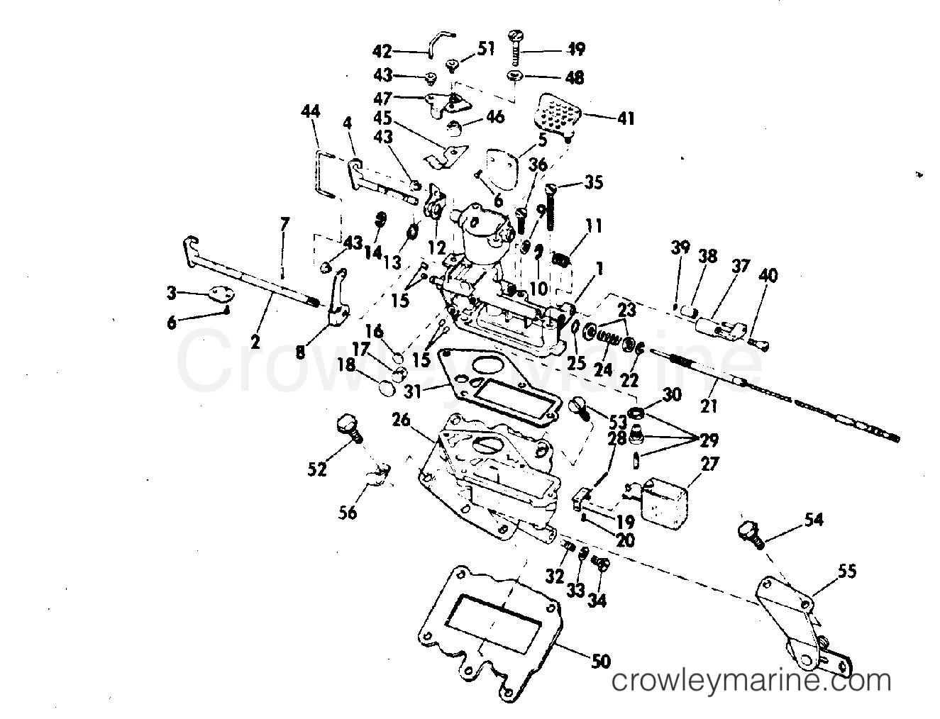 diagram of 1972 9222m evinrude carburetor diagram and parts