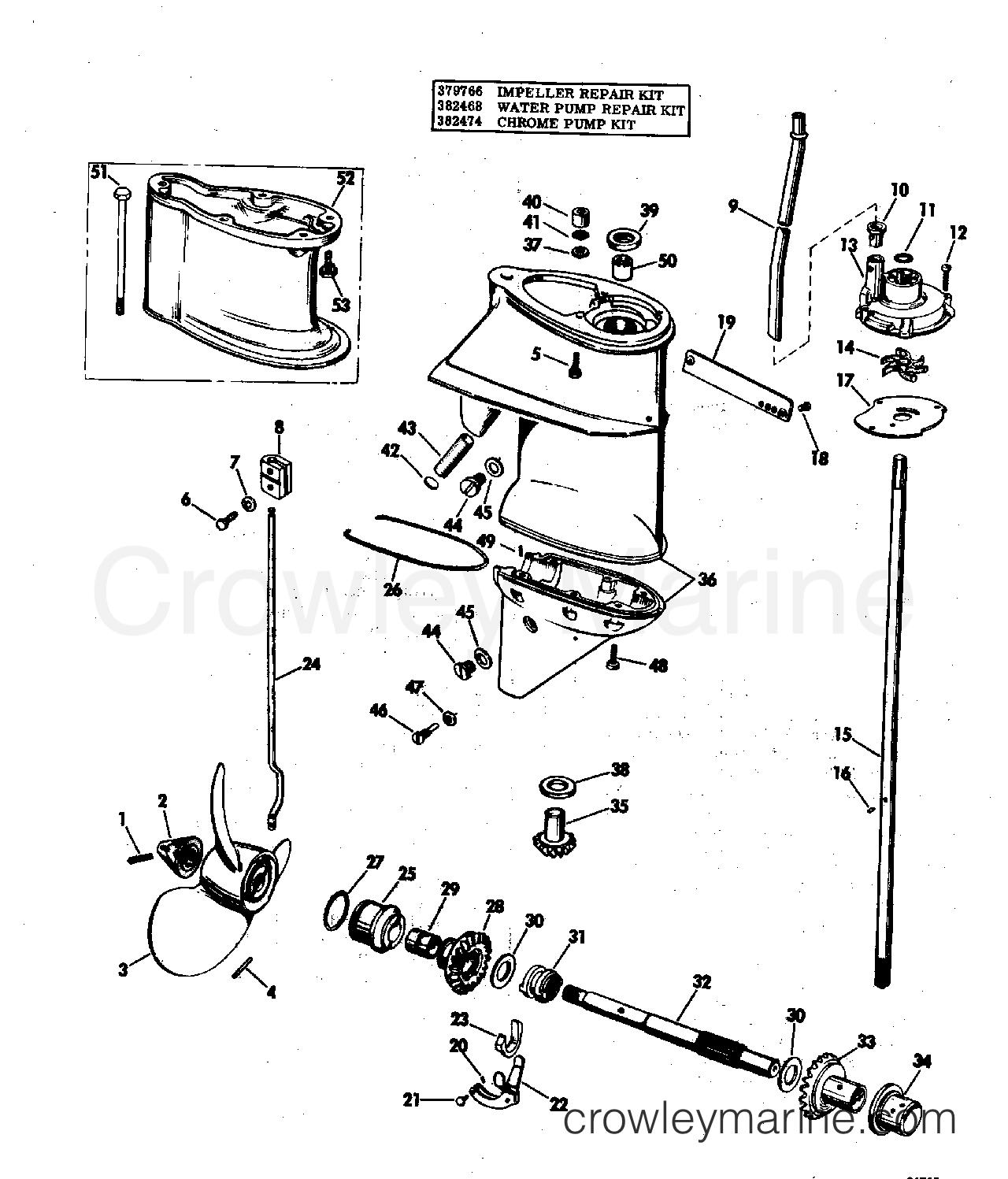 35 hp johnson bedradings schema schematic