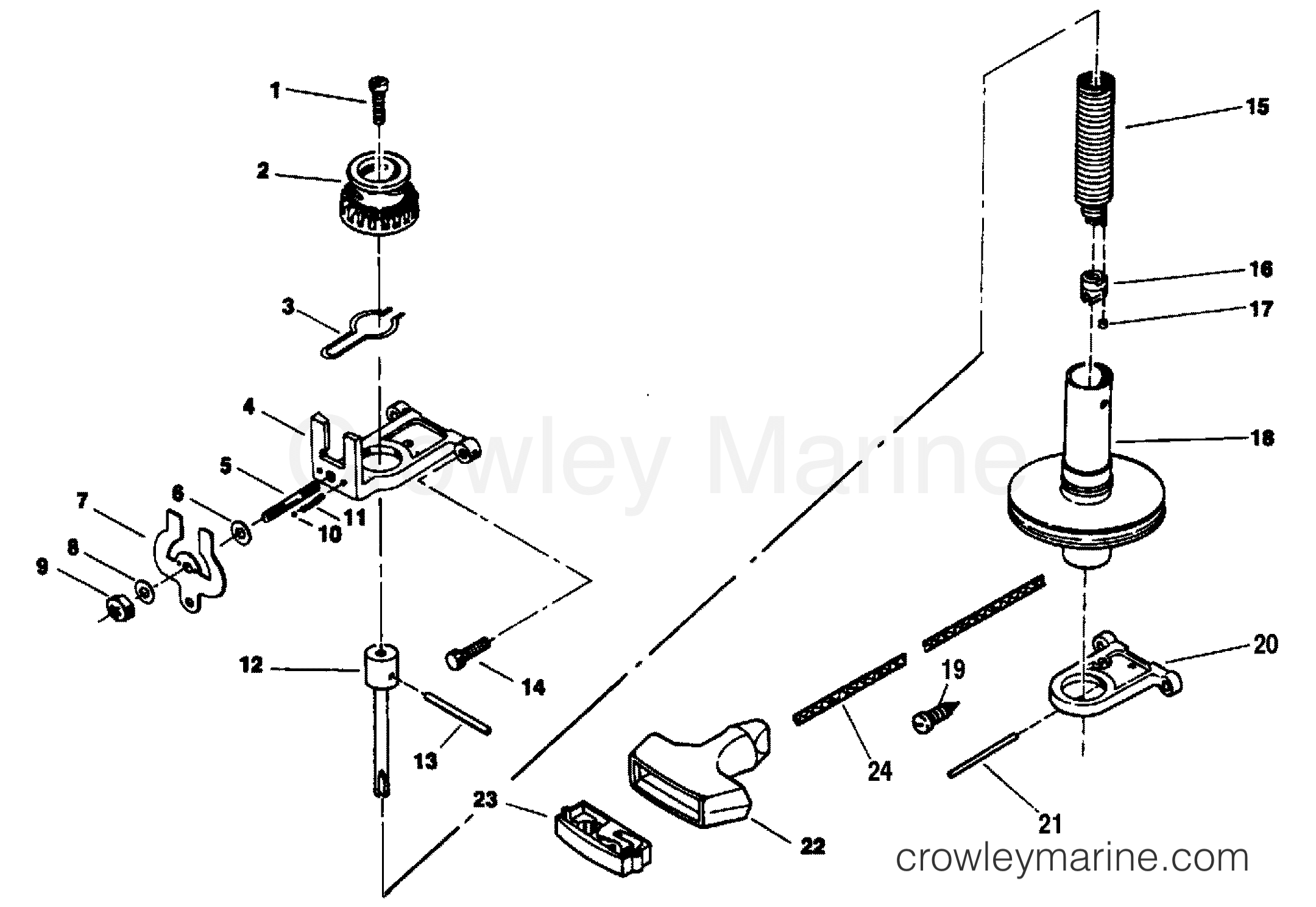 1993 force engine diagrams