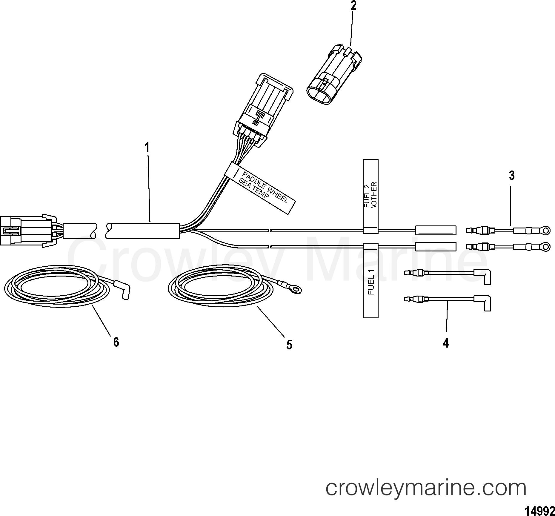 paddle boat parts diagram