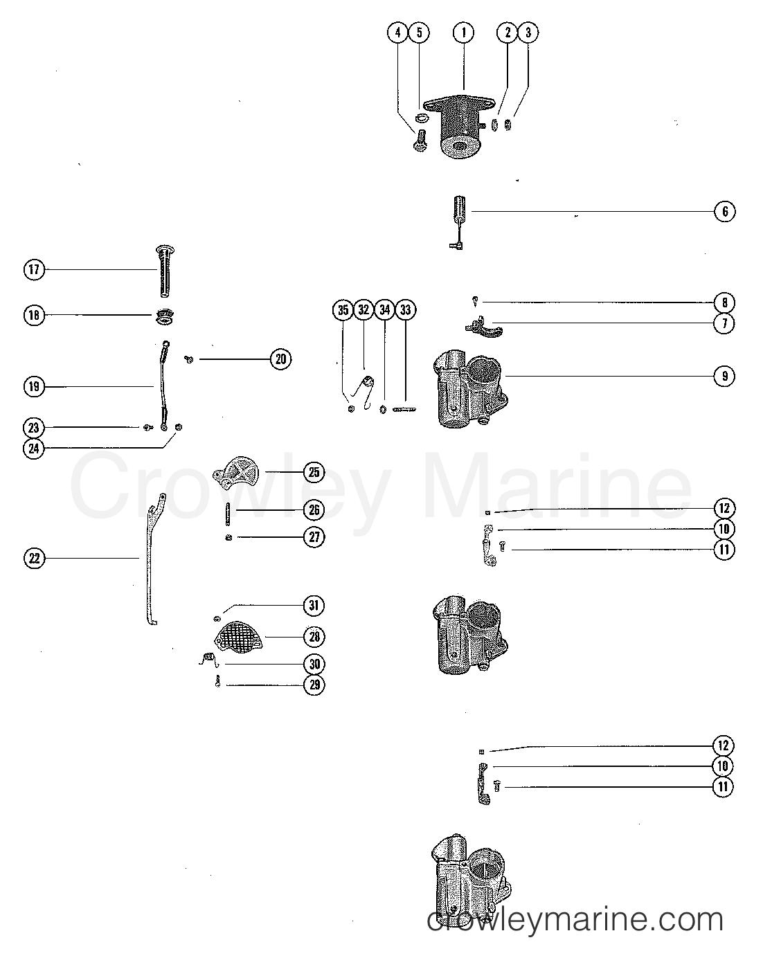 diagram of 1978 mercury marine mercury outboard 1115628 carburetordiagram of 1978 mercury marine mercury outboard 1115628 carburetor