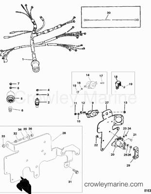 mercruiser 3 0l service and wiring diagram