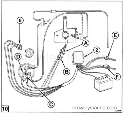 Power Trim/Tilt Motor and Wire Harness Kit - Crowley Marine
