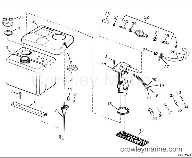 Remote Oil Tank Kit - Crowley Marine