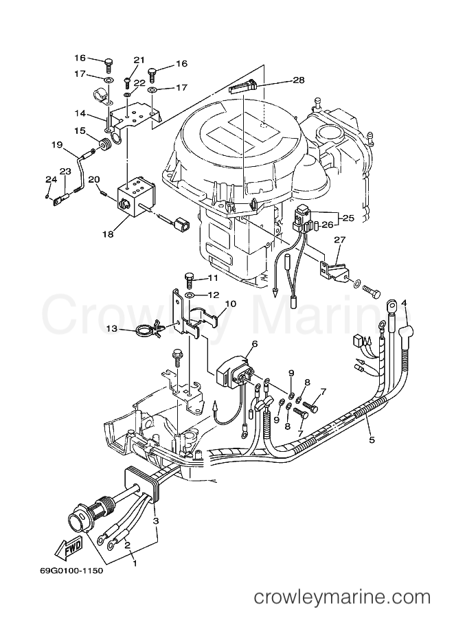 yamaha outboards wiring schematics