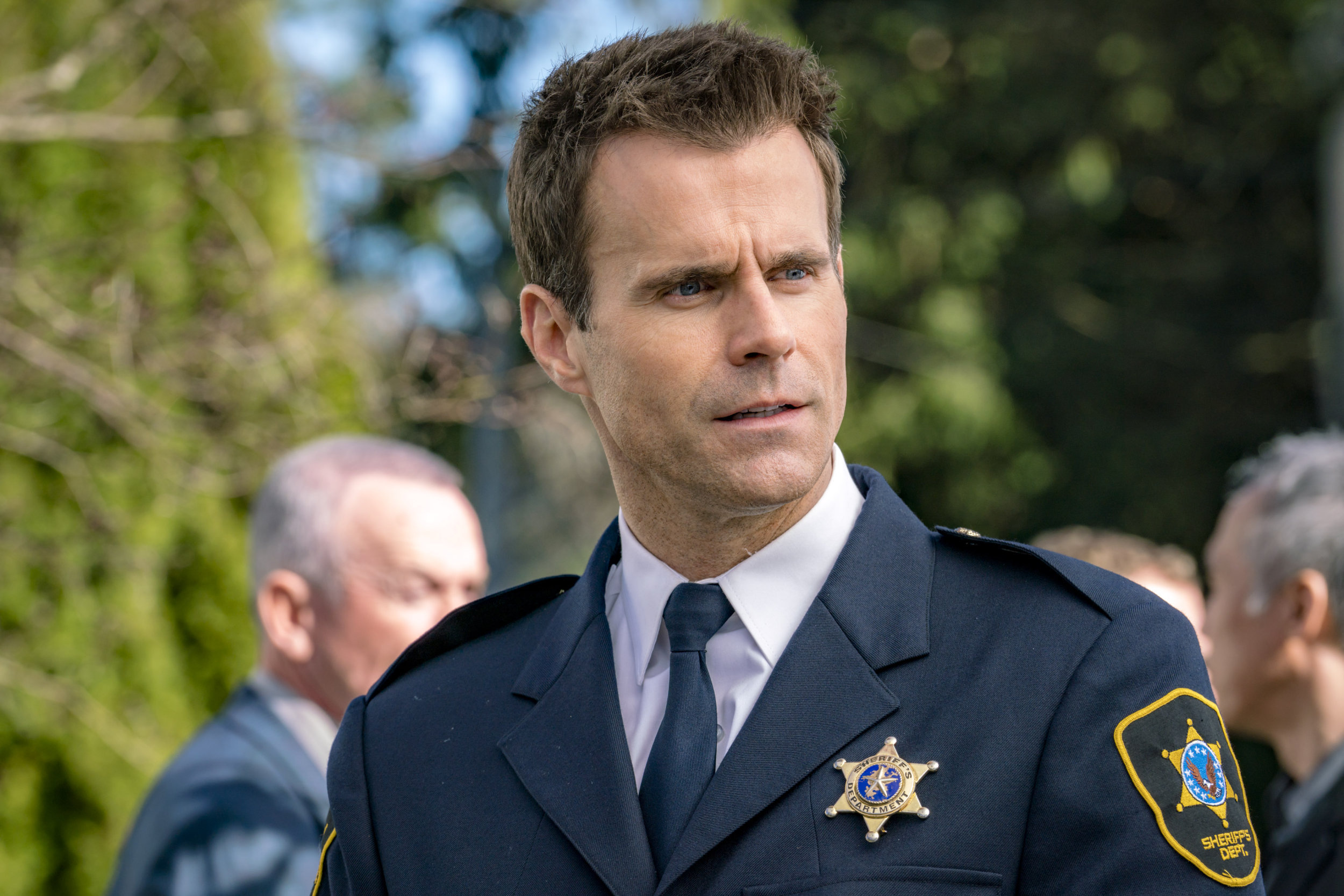 Gabriel Hogan Cameron Mathison As Mike On Murder She Baked A Deadly Recipe